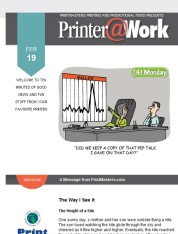 Printer@Work: 9 Tips to Increase Brand Awareness